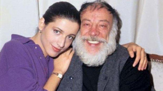 Münir Özkul ve kızı Güner Özkul