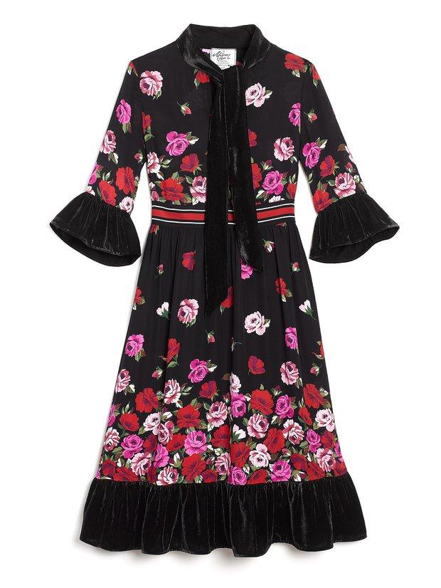 KAte Spade romantik uzun elbise