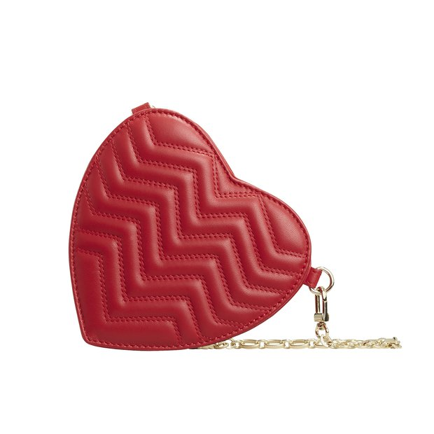 Maje kalp şeklinde kadın çanta
