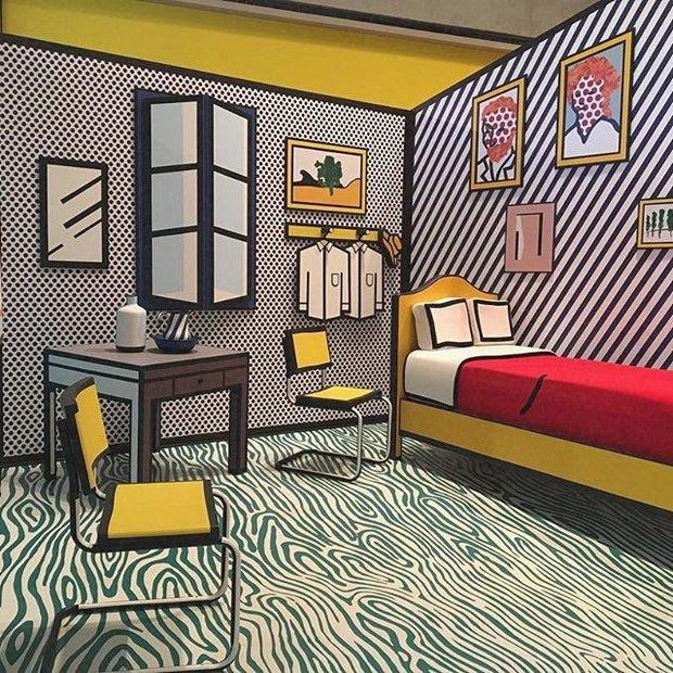 Roy Lichtenstein'ın Van Gogh odası