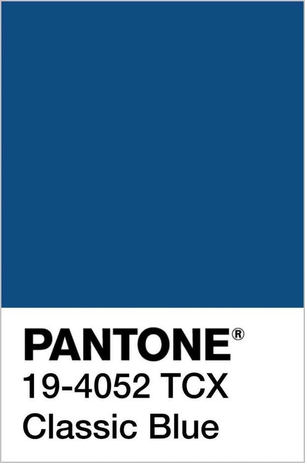 Pantone klasik mavi