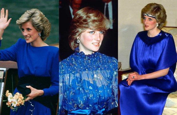 Prenses Diana Maviler İçinde