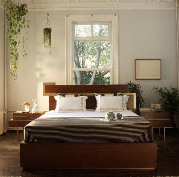 Yeni evli çifler için yatak odası