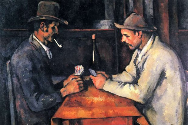 The Card Players, Cezanne