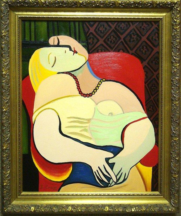 Le Reve, Picasso