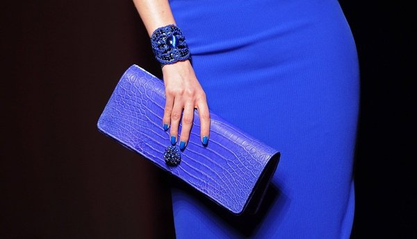 Yeni Siyah Kobalt Mavi Mi Pudra