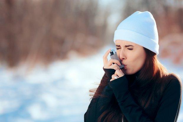 Soğuk havada spor ve astım krizi