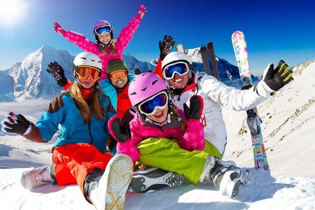 Çocuklarla kayak tatili