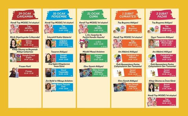 D&R Çocuk Festivali 29 Ocak-2 Şubat Programı