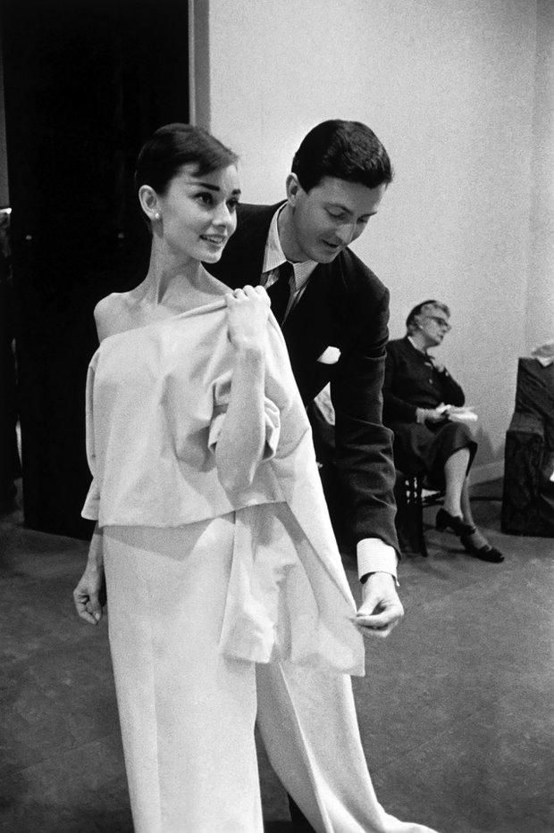 Audrey Hepburn ve Hubert de Givenchy