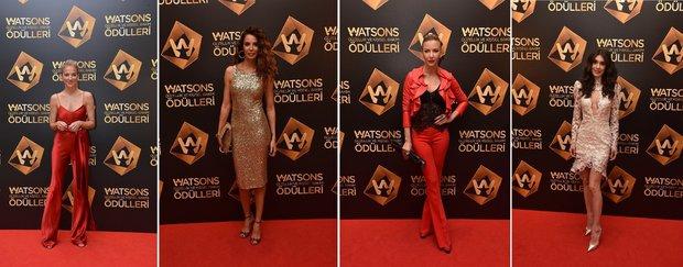 Watsons ödül gecesi davetlileri