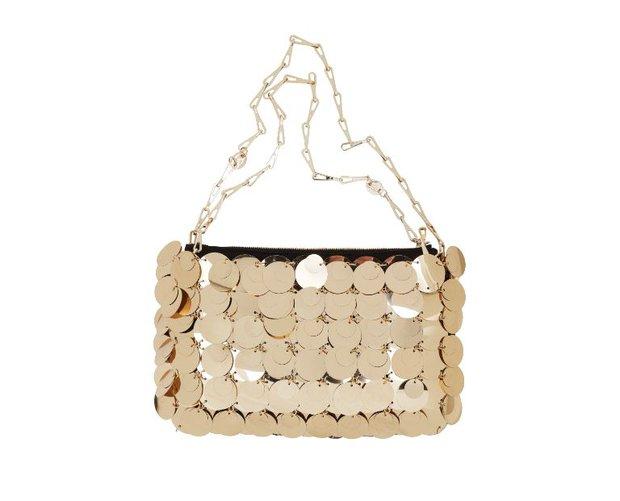 Paco Rabanne payetli çanta