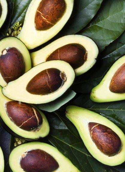 Kuru ciltli bebekler için avokado yağı