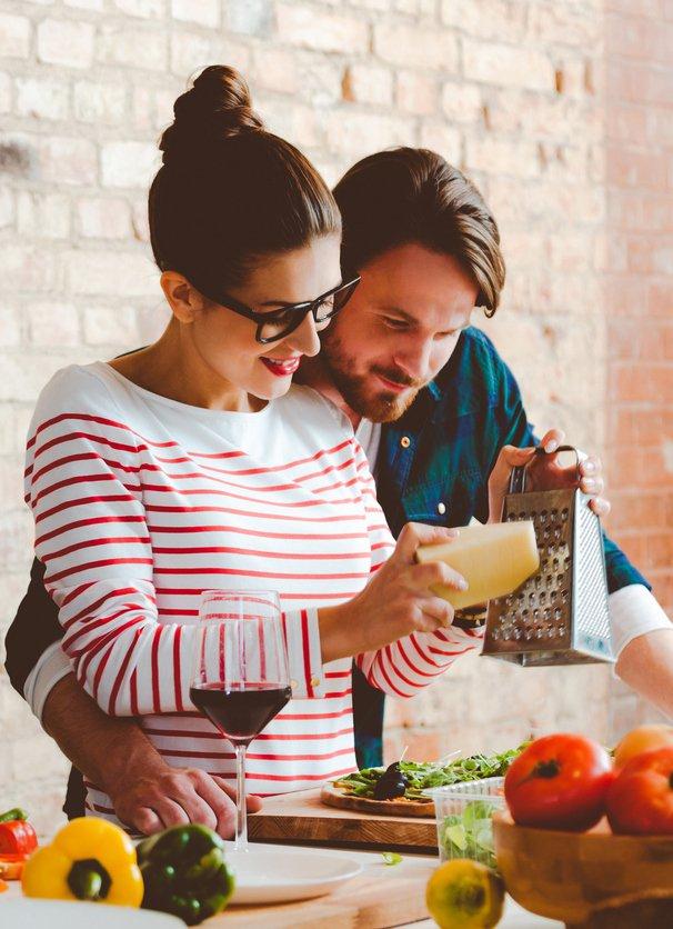 Sevgili ile sağlıklı beslen