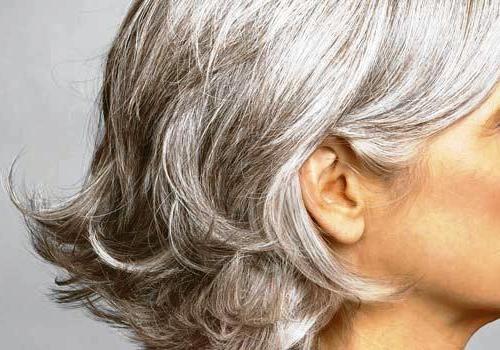 Kırlaşmış saç ve cila