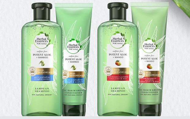 erbal Essences PURE:renew Sülfatsız Aloe Serisi