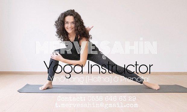 Hamilelikte Yoga Eğitmeni Merve Şahin