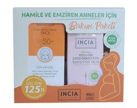 Hamile ve emziren anneler için bakım paketi incia