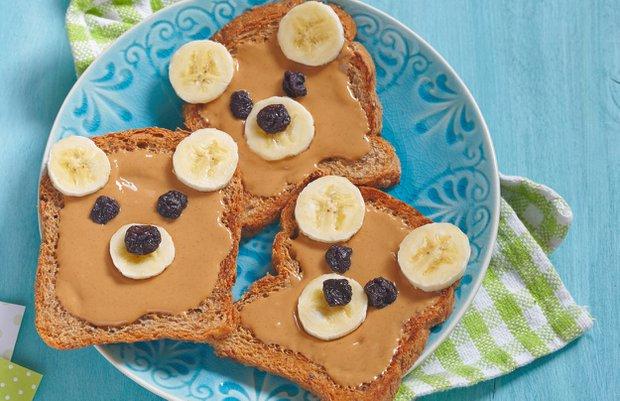 Mini gurmeler için sağlıklı kahvaltı