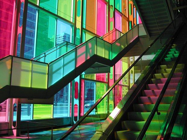 Renklerin etkisi - Mimari