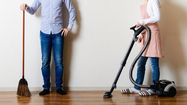 Ev temizliğinde iş bölümü