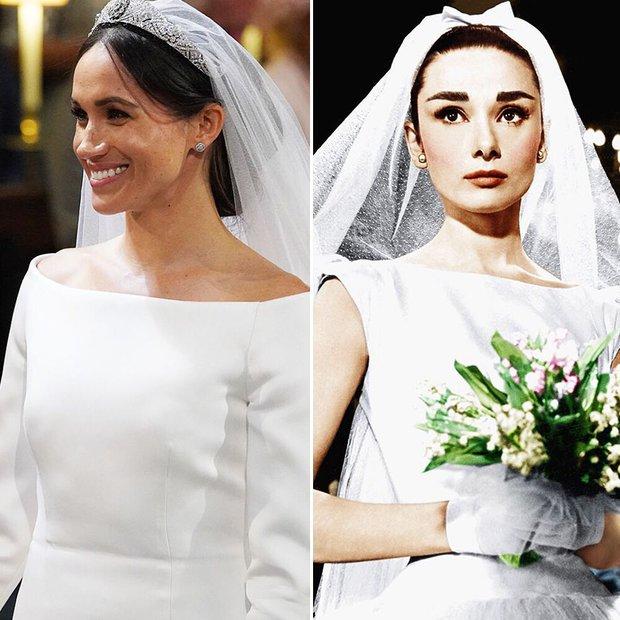 Meghan Markle vs. Audrey Hepburn