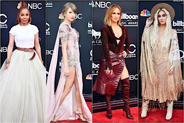 Billboard Müzik Ödülleri 2018 kırmızı halı görünümleri