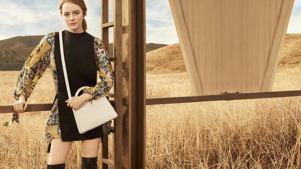 Louis Vuitton & Emma Stone