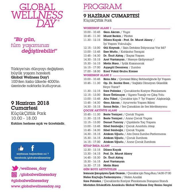 Global Wellness Day programı