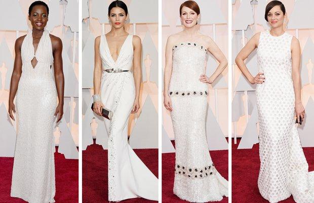 beyaz 2015 oscar toren en guzel iyi elbise mkl