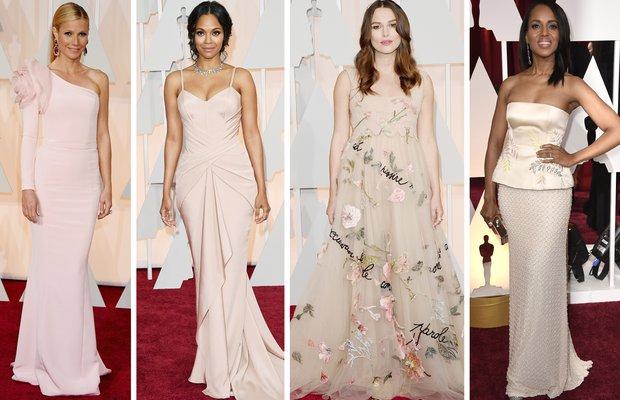 toz pembe 2015 oscar en iyi guzel elbise kirmizi hali