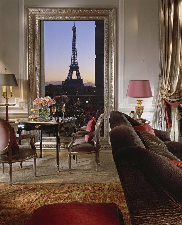 Hotel Plaza Athenee; Paris
