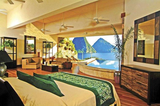 Jade Mountain Resort; St Lucia
