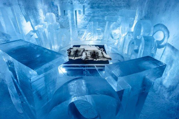 The Icehotel; İsveç
