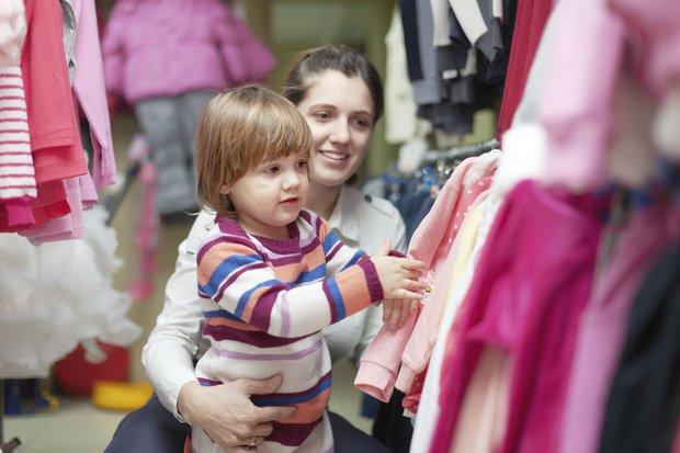 Çocuk ile alışveriş