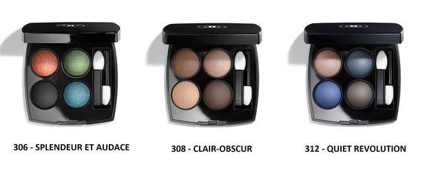 Chanel yeni dörtlü far paletleri