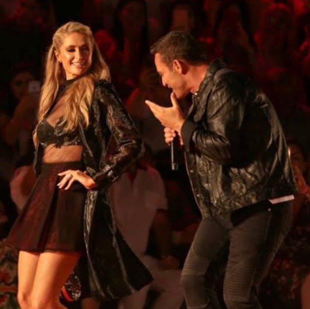 Paris Hilton & Mustafa Sandal