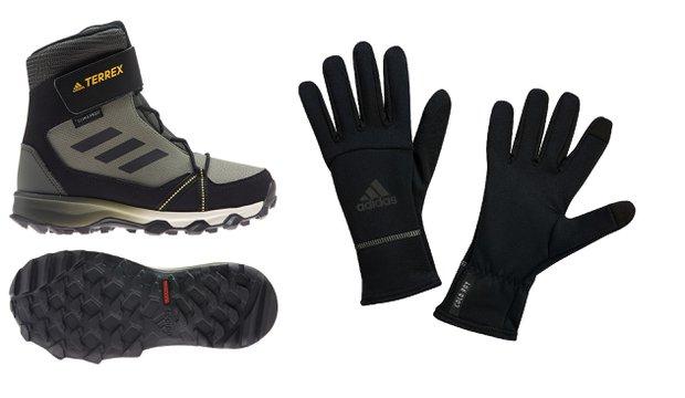 Adidas cold rdy koleksiyonu ayakkabı ve eldiven