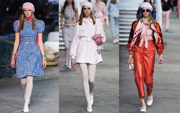 Chanel 2019 Cruise koleksiyonu defilesi