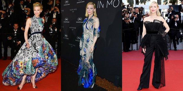 Cate Blanchett 71. Cannes Film Festivali'nde