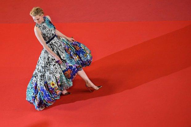 Cate Blanchett Mary Katrantzou elbise