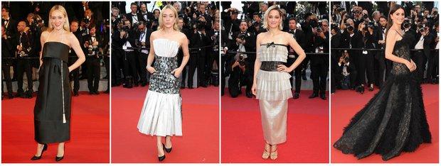 Cannes Film Festivali, Chanel elbiseler