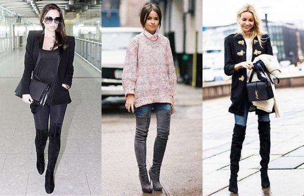 dizustu cizme bot 2015 sonbahar kis moda stil 4