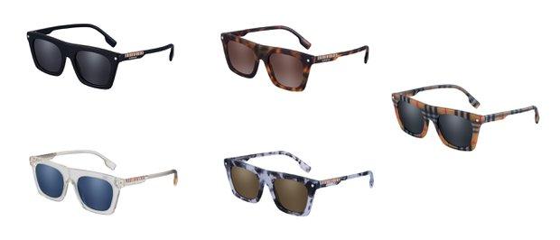 Burberry BE4318 Modeli Gözlük Desenleri