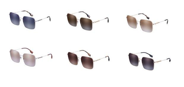 Burberry BE3119 Modeli Gözlük Desenleri