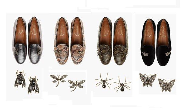 Fabula & Divarese ayakkabı ve broş seçenekleri