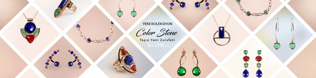 So CHIC... Color Stone Koleksiyonu