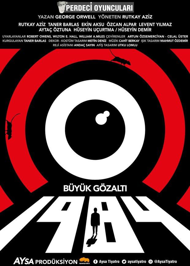 1984 (Büyük Gözaltı) afiş