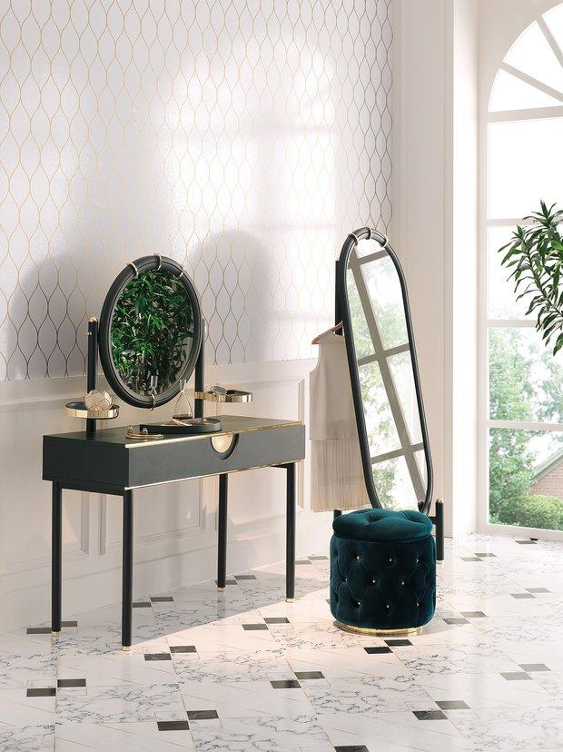 Ottavia yatak odası makyaj masası Enza Home