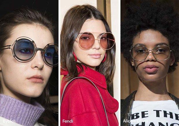 Gözlük trendleri 2018-2018